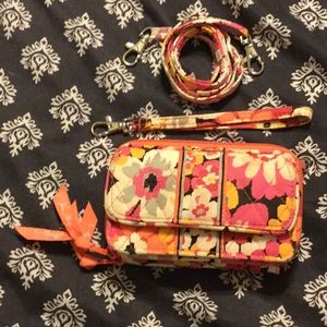 Vera Bradley, Pixie Blooms, All in One Crossbody